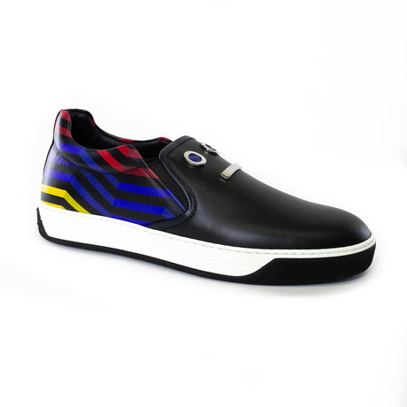 Faces Slip-On Sneakers // Multicolor (US: 5)