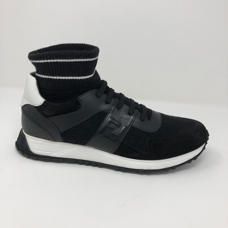 Leather Sneakers // Black (US: 5)