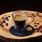 Verona Espresso Glass // Set of 6