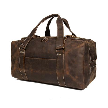 Large Duffle Bag // Brown