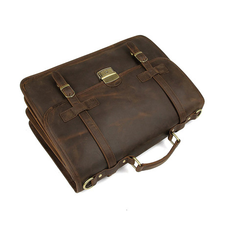 Briefcase (Yellow Brown)