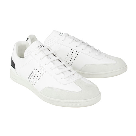 Dior Homme // Leather And Suede B01 Sneakers // White (US: 6)