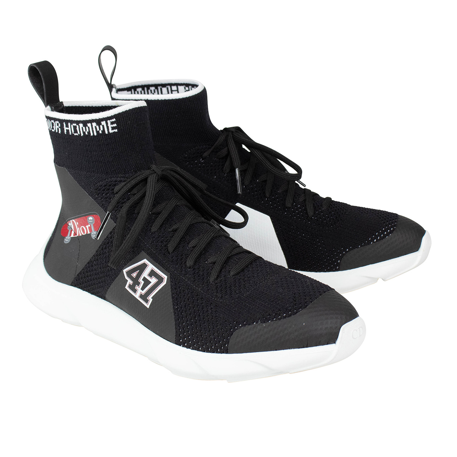 Dior Homme // Knit Lace Up B21 Sock
