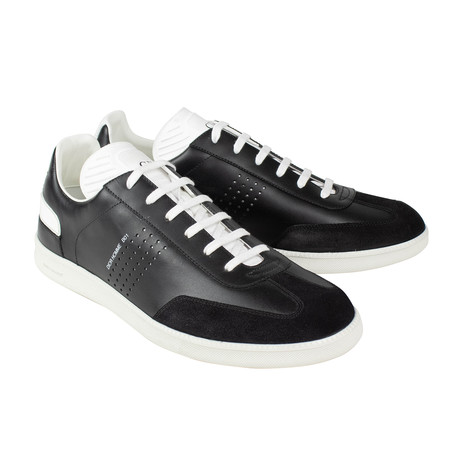 Dior Homme //  Leather And Suede B01 Sneakers // Black (US: 6)