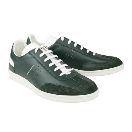Dior Homme // Leather + Suede B01 Lace Up Sneakers // Green (US: 6)