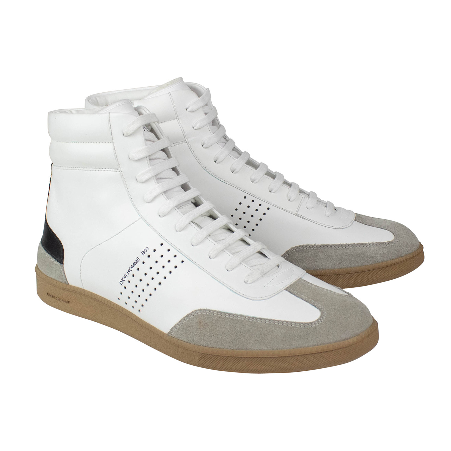 Dior Homme // Leather B01 Mid-Top