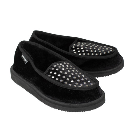 Palm Angels X Suicoke // Velvet Loafers Slippers Shoes // Black (US: 6)