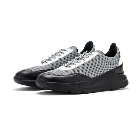 Soho Grit // D'Arblay Sneaker // Black + Grey (Euro: 36)