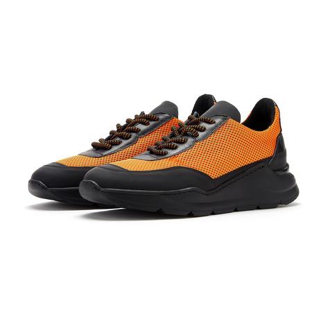 Soho Grit // Frith Sneaker // Black + Orange (Euro: 36)