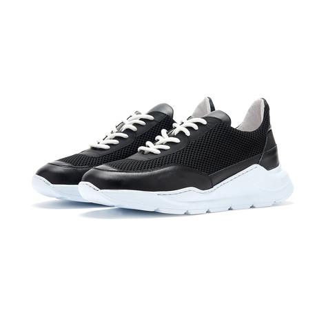 Soho Grit // The Beak Sneaker // Black + White (Euro: 36)