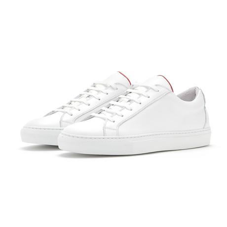 Soho Grit // The Soho Sneaker // White (Euro: 36)