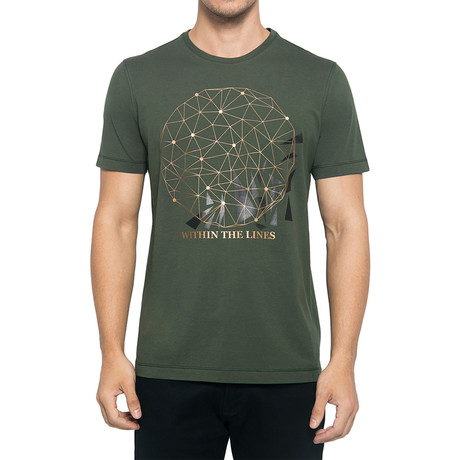 Within The Line T-Shirt // Army Green (S)