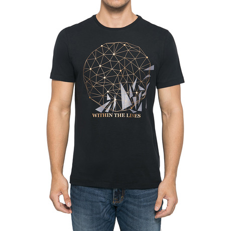 Within The Line T-Shirt // Black (S)