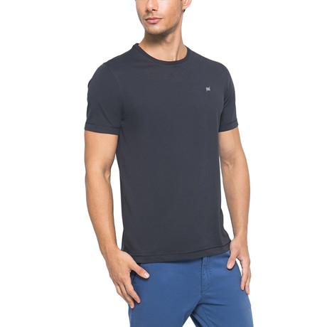 Supima Light Logo Crew-Neck T-Shirt // Dark Gray (S)