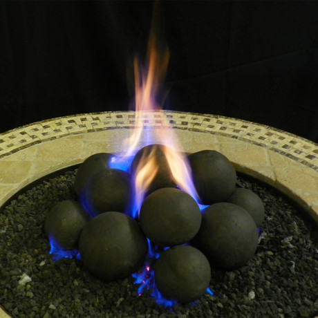 Ceramic Cannonball Set // Black