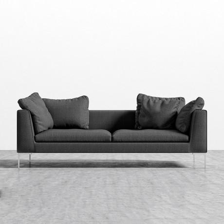 Hugo Sofa // Dark Granite