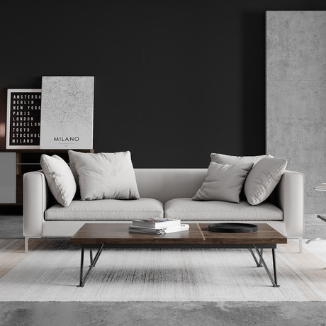 Hugo Sofa // Concrete