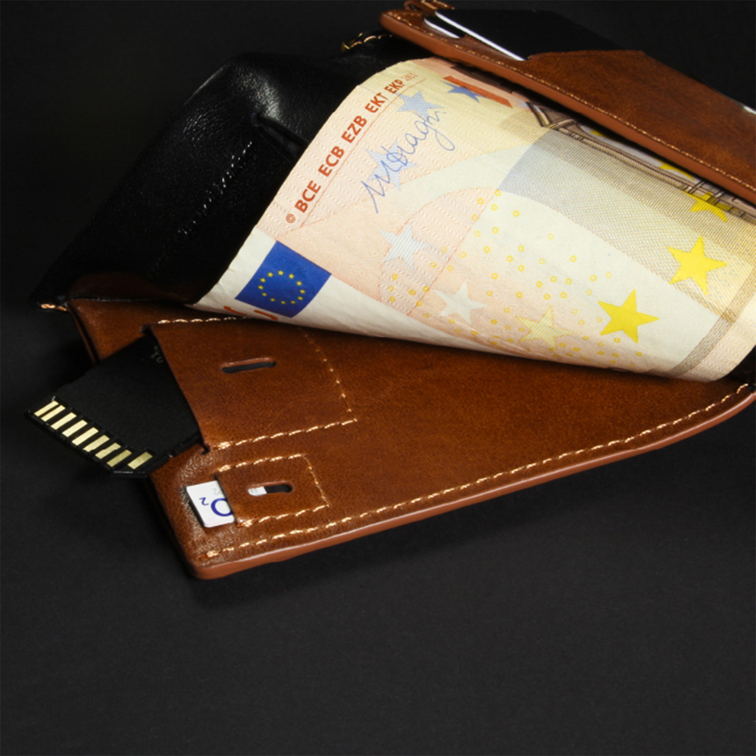 wallet  chipolo card tracker  black  suave wallet