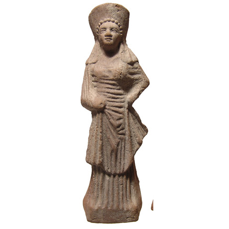 Greek Terracotta Figurine Of A Woman // C. 4th-3rd Century BC