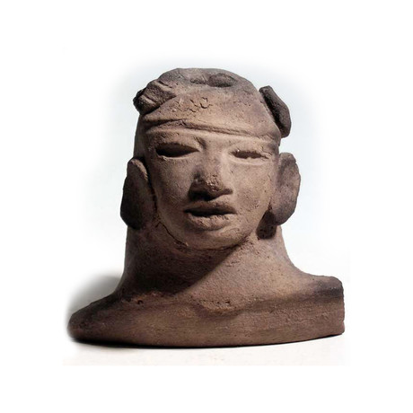 Large Teotihuacan Bust From Mexico // C. 650-750 AD