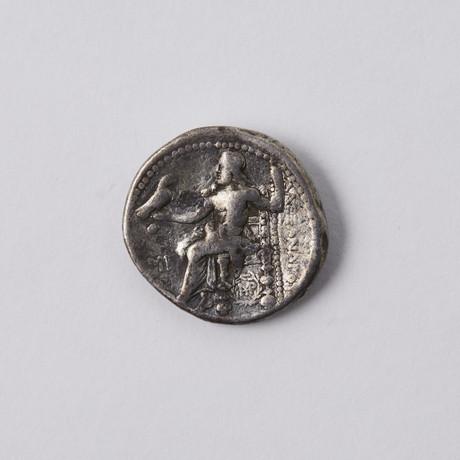 Alexander III The Great 336-323 BC. Large Silver Coin