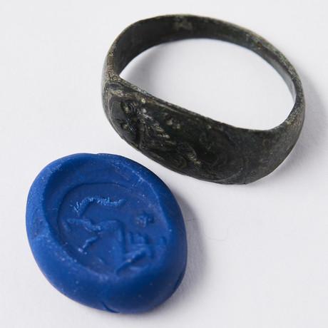 Ancient Roman Lion Ring