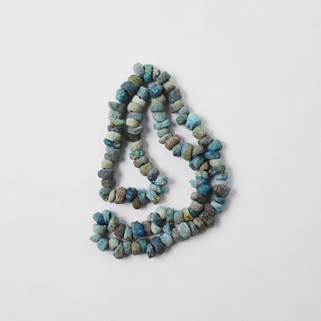 Sea-Encrusted Egyptian Faience Beads // C. 664-30 BC
