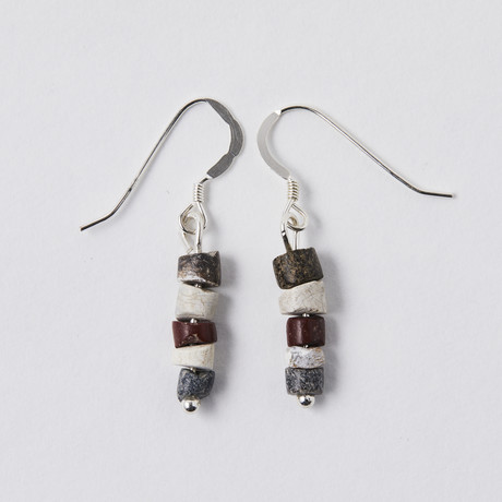 Ancient Sumerian Bead Earrings