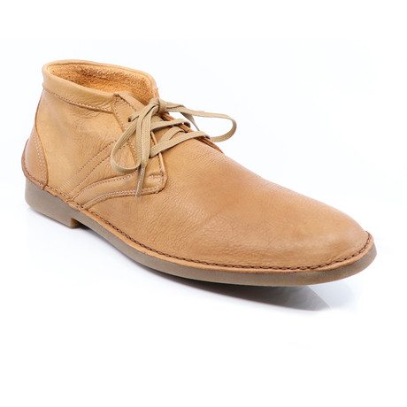 Alan Lace-Up Boots // Brandy (Euro: 40)