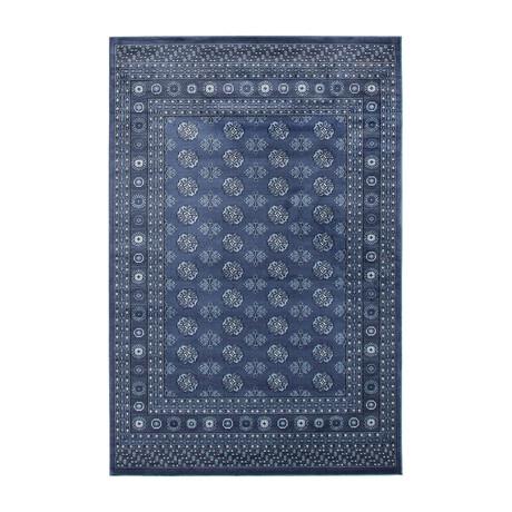 "Bokhara // Blue (5'3""W x 8'L)"