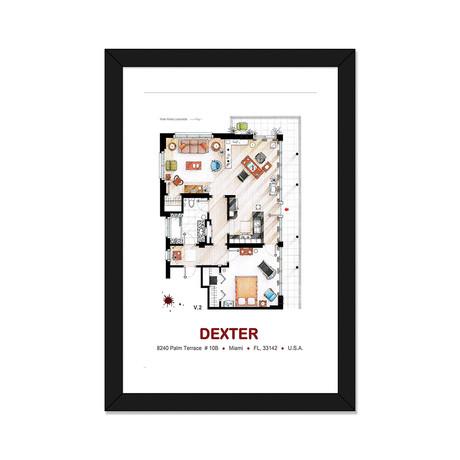 """Dexter Morgan's Apartment (16""""W x 24""""H x 1""""D)"""