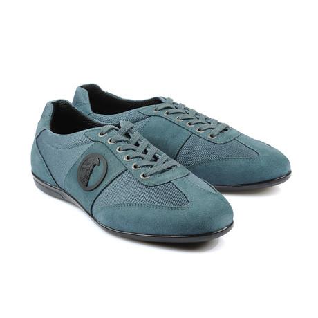 Lace-Up Logo Fashion Sneaker // Blue (Euro: 40)