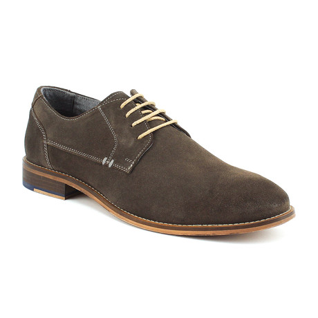 Hawkins Plain Toe Derby // Grey (US: 8)