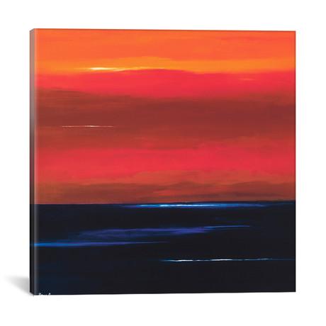 """Afterglow I // Hans Paus (18""""W x 18""""H x 0.75""""D)"""