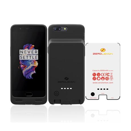 8000mAh Battery Case // OnePlus 5