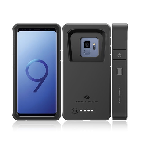 8000mAh Battery Case + Belt Clip // Samsung Galaxy S9