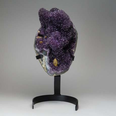 Amethyst Cluster on Stand // 26lbs