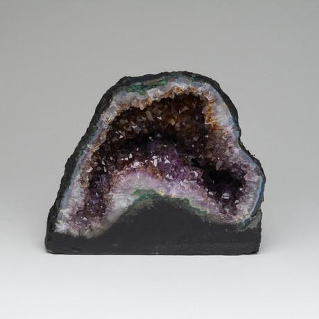 Amethyst Clustered Geode // 6lbs