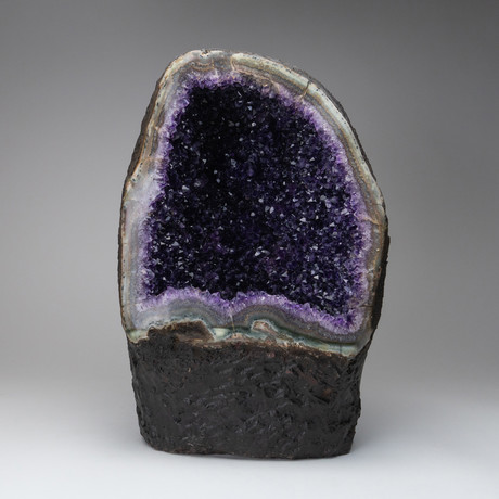 Amethyst Clustered Geode // 42lbs