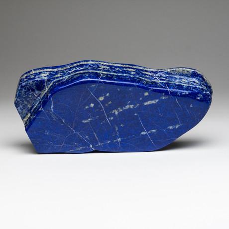 "Polished Lapis Lazuli Freeform // 3.5lbs 4""Height"