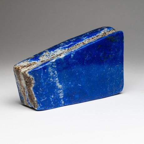 "Polished Lapis Lazuli Freeform // 4lbs 4.5"" Height"