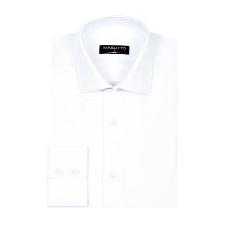 Ben Dress Shirt // White (XS)