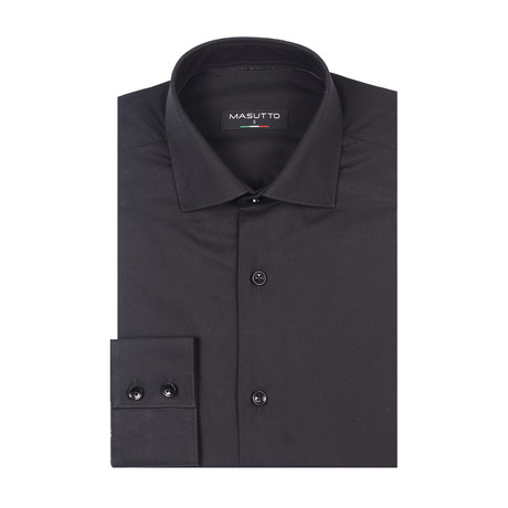 Ben Dress Shirt // Black (XS)