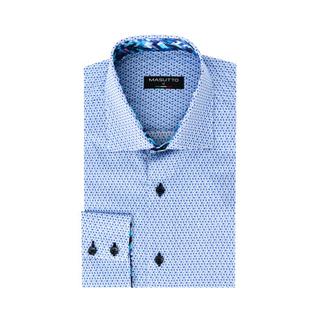 Panther Dress Shirt // Blue (XS)