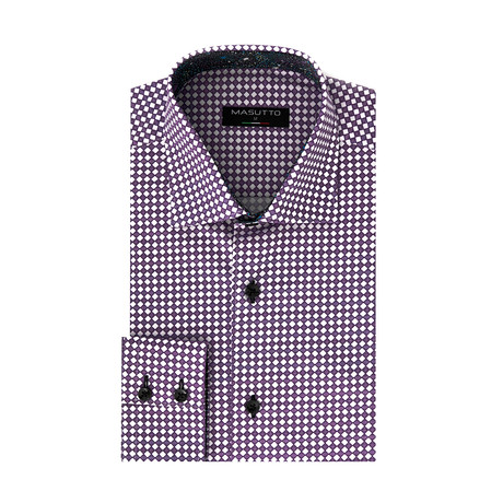 Penn Dress Shirt // Purple (XS)