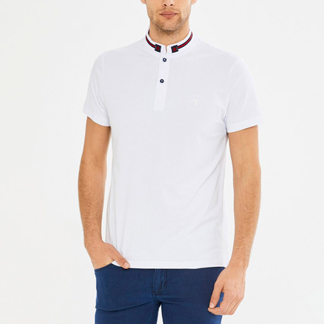 Quincy Collared Shirt // White (S)