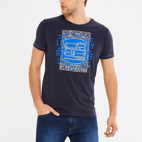 Floyd T-Shirt // Navy (S)