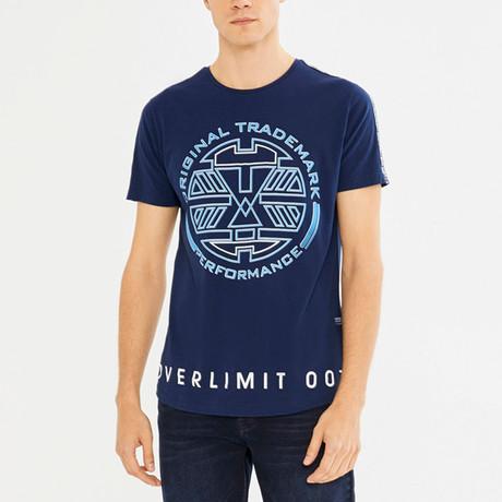 Frederick T-Shirt // Navy (S)