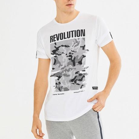 Randall T-Shirt // White (S)