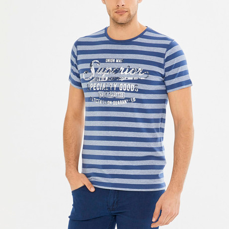 Carrol T-Shirt // Indigo (S)